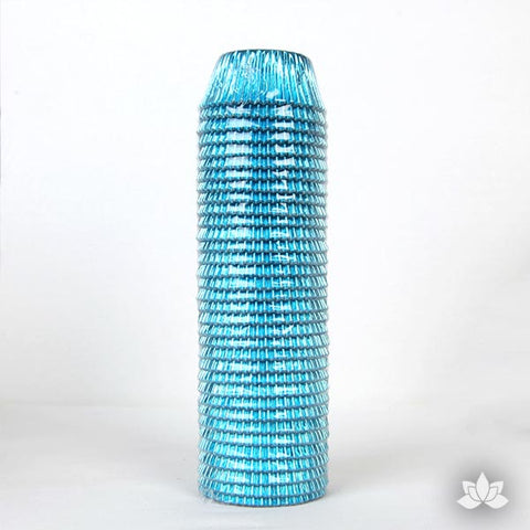 500 Foil Baking Cups - Teal (Sleeve)