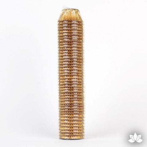 500 Mini Gold Foil Baking Cups (Sleeve)