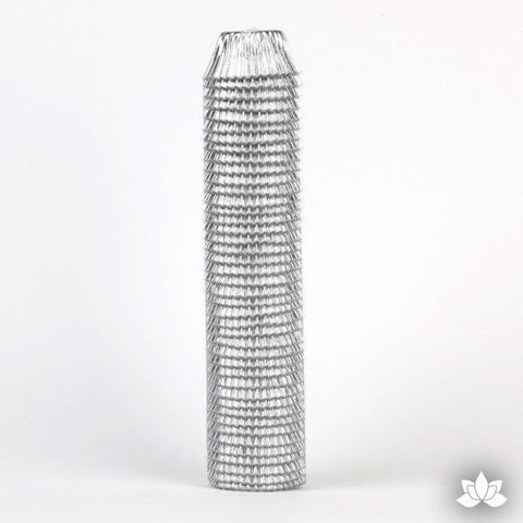 500 Mini Silver Foil Baking Cups (Sleeve)