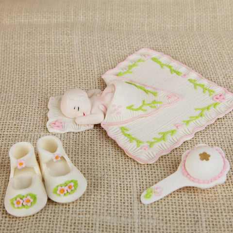 Sleepy Baby Girl Set - Pink