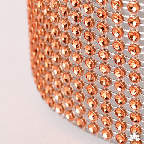 Copper Glam Ribbon - Cake Wrap