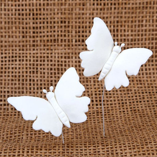 Large Butterflies - White