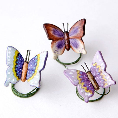 Ceramic Butterflies - Mix Color