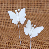 Small Butterflies - White