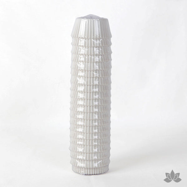 500 Plain Baking Cups - White (Sleeve)