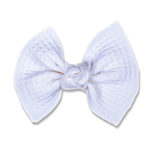 Fancy Bow - White