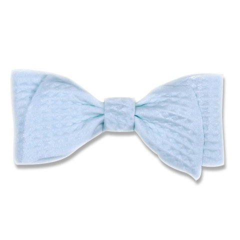 Fancy Bow - Baby Blue