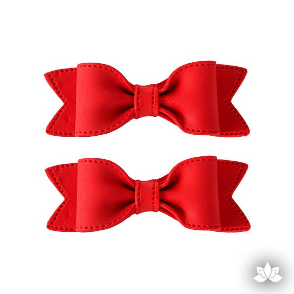 Edible Bow Tie readymade from fondant, great cake toppers for decorating your own cakes. Easy to use cake decorating. | CaljavaOnline.com