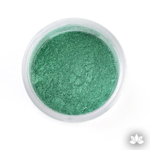 Super Green luster dust, dust color, dusting color, petal dust, food color, cake decorating, cake art, edible color, cupcake decorating, sugarart, sugarflower, cake craft, diamond dust, sparkle dust, wedding cake, fondant cake, how to, learn how, at home, bake.
