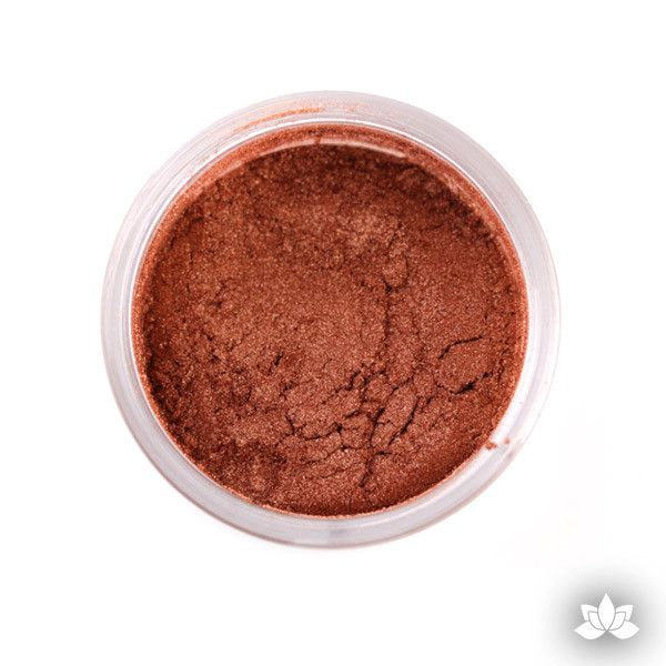 Copper Luster Dust Colors food coloring perfect for cake decorating fondant cakes, cupcakes, cake pops, wedding cakes, and sugarflowers. Dusting color. Cake supply.