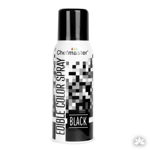 ChefMaster Edible Spray - Black