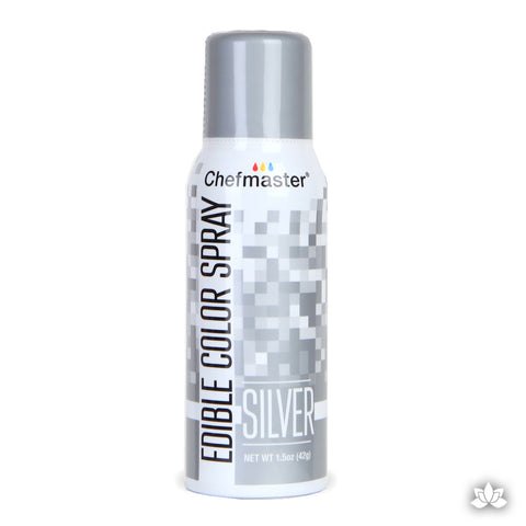 ChefMaster Edible Spray - Silver