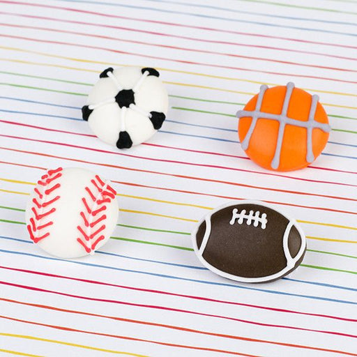 Fondant Sports Balls. Wholesale available.