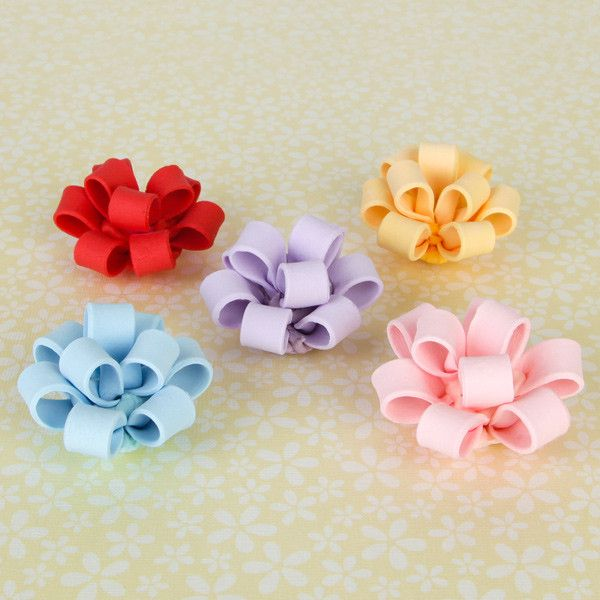 Cupcake Bows - Mix Colors