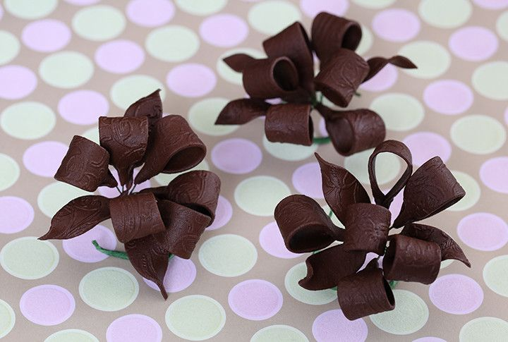Chocolate Bows