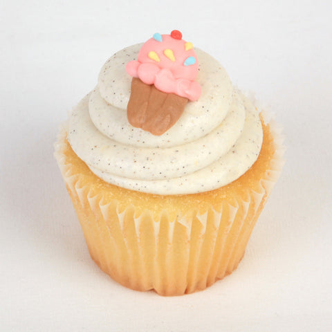 Edible Ice Cream cupcake toppers great for cake decorating your own cupcakes and cakes. | CaljavaOnline.com