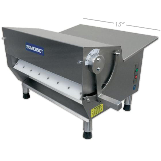 "Somerset Dough & Fondant Sheeter 15"" (CDR-300)"