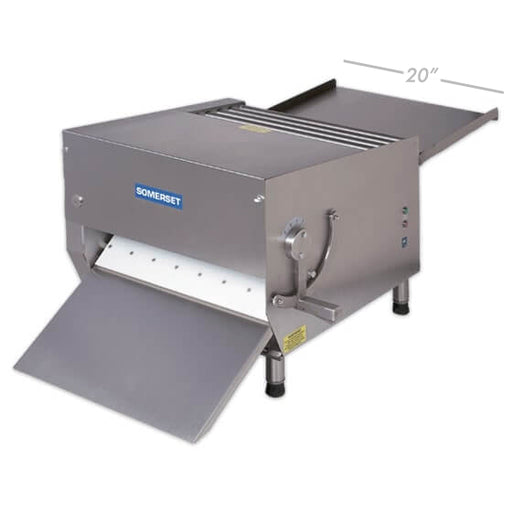 "Somerset Dough & Fondant Sheeter 20"" (CDR-700) OSHA"