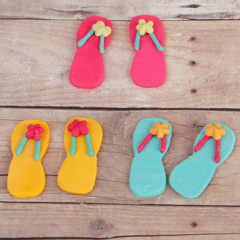 Flip Flops - Assorted Hot Colors