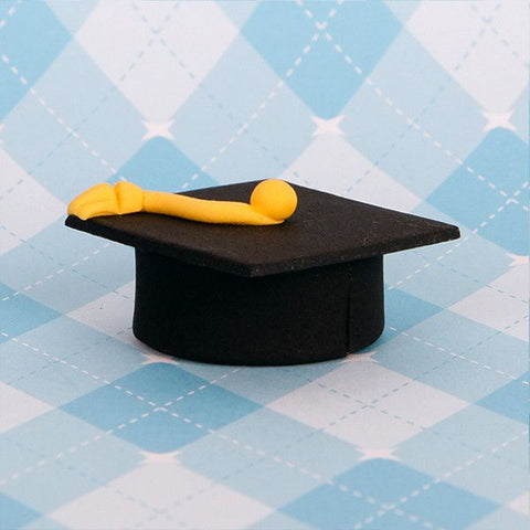 Small Graduation Caps - Black