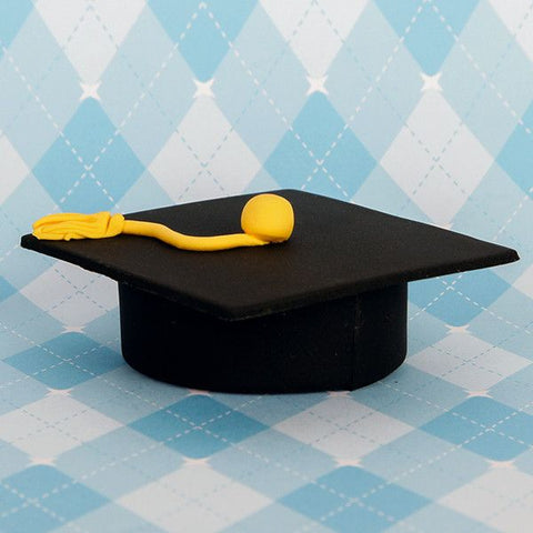 Large Graduation Caps - Black