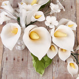 Large Calla Lily Sprays - White