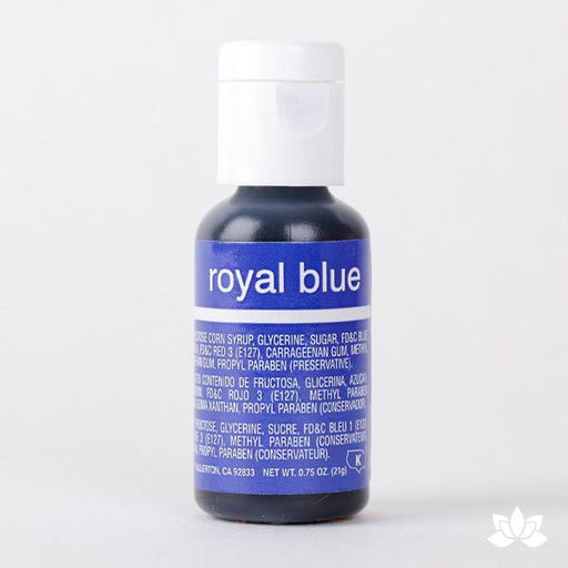 Chefmaster Liqua-Gel Color 0.70 oz - Royal Blue