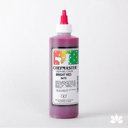 ChefMaster Liqua-Gel Color 10.5 oz - Bright Red