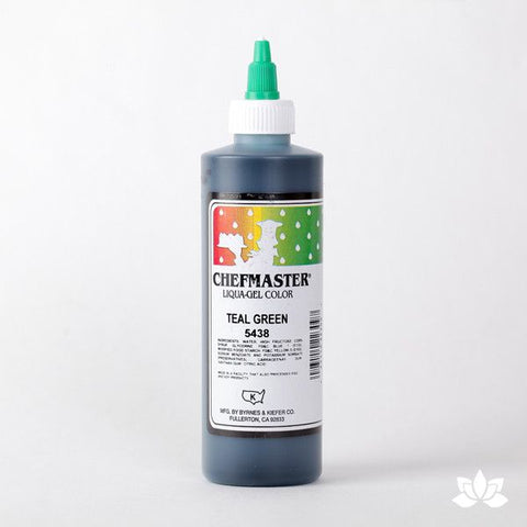 ChefMaster Liqua-Gel Color 10.5 oz - Teal Green