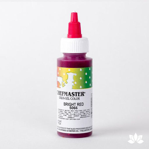 ChefMaster Liqua-Gel Color 2.3 oz - Bright Red