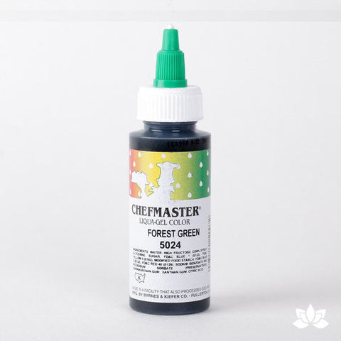 ChefMaster Liqua-Gel Color 2.3 oz - Forest Green