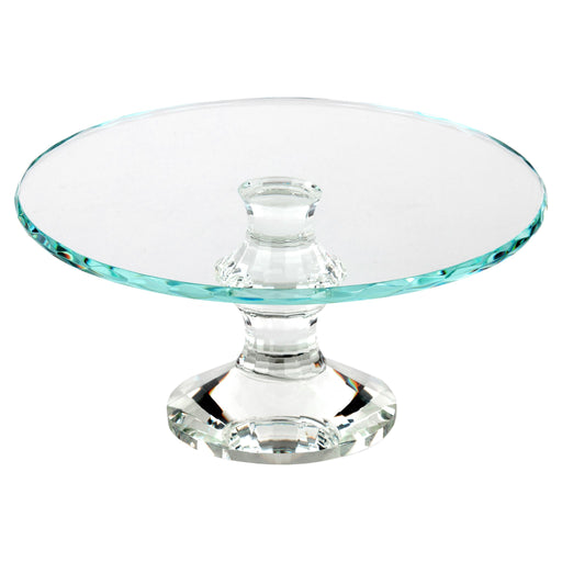 10 Inch Solid Crystal Cake Stand