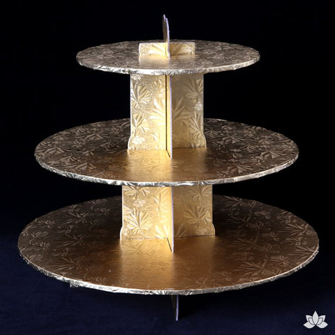 Cupcake Stand - Gold Foil