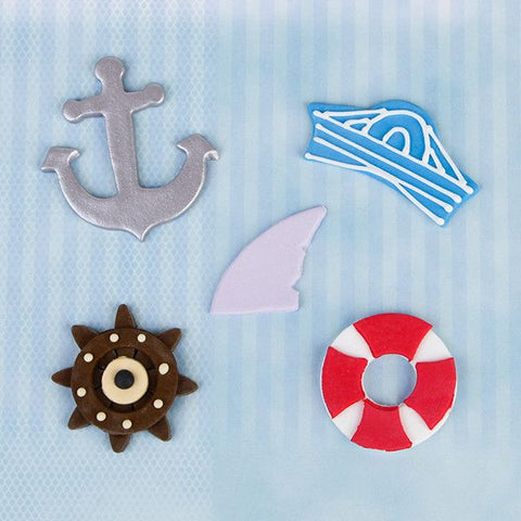 Boys Edible Cupcake Toppers