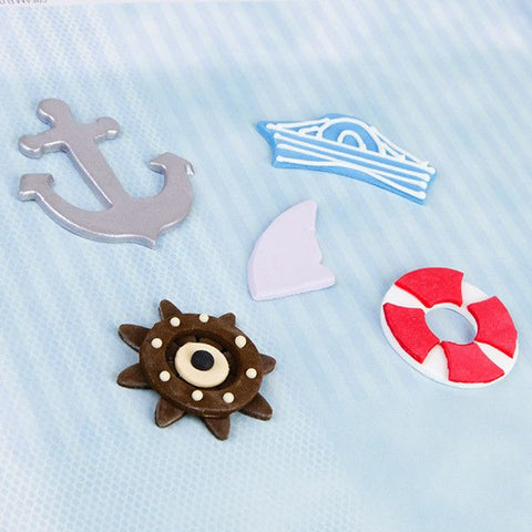 Fondant Sailor Set. Wholesale available.
