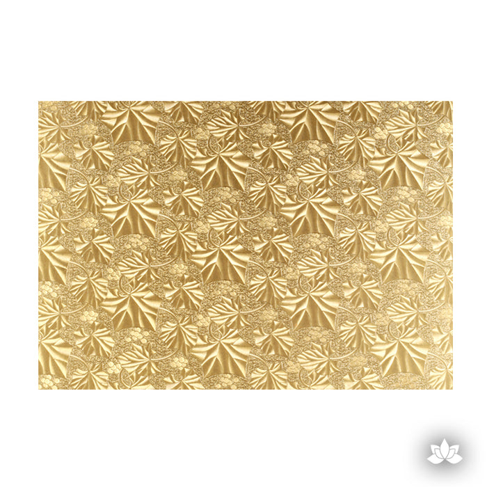 Gold Foil Cake Drum for cake decorating your own cakes. Cake Boards