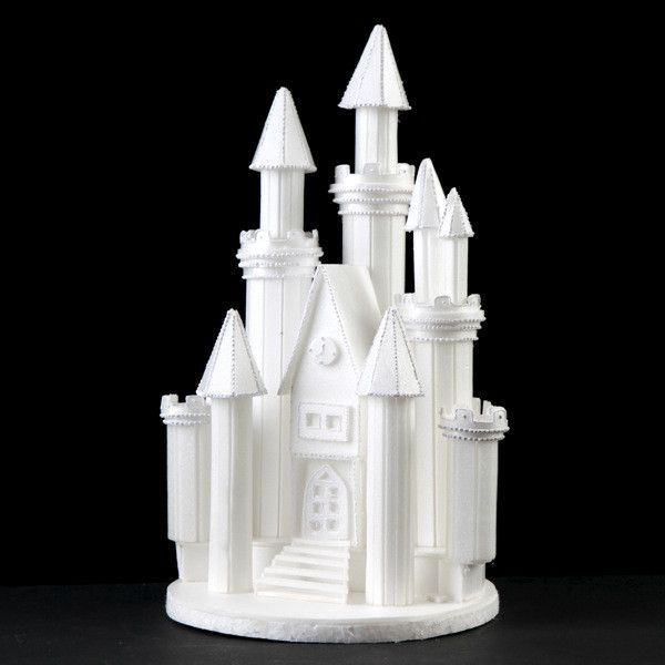 fairytale castle wedding cake topper styrofoam castle 9 caljavaonline 14098