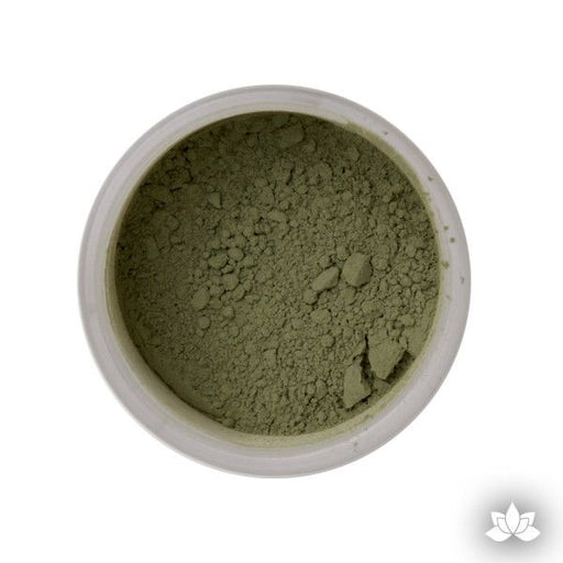 Chartreuse Petal Dust food coloring perfect for cake decorating & painting gumpaste sugar flowers. Caljava
