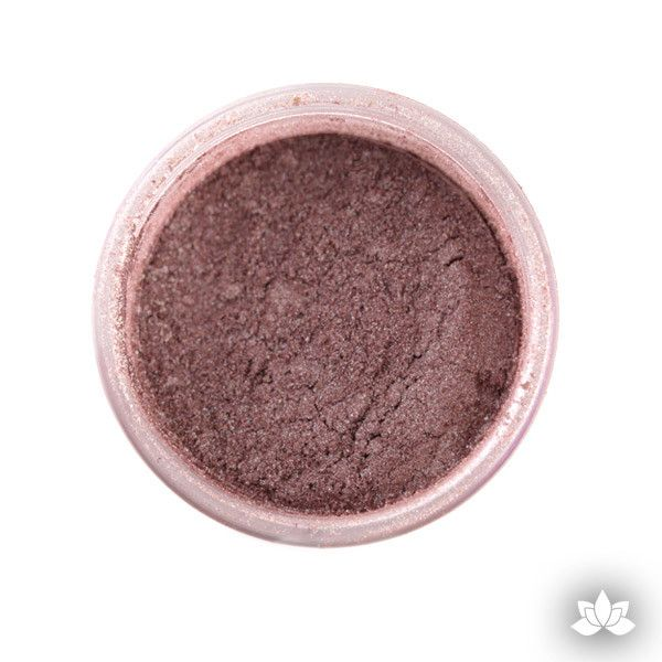 Chocolate latte Luster Dust Colors food coloring perfect for cake decorating fondant cakes, cupcakes, cake pops, wedding cakes, and sugarflowers. Dusting color. Cake supply.