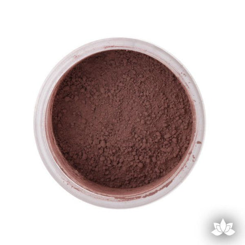 Cinnamon Petal Dust color food coloring perfect for cake decorating & coloring gumpaste sugar flowers. Caljava