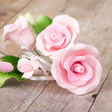 Small Tea Rose Sprays - Pink