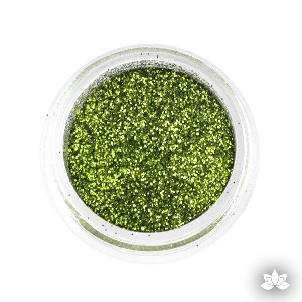 Avocado Disco Dust Pixie Dust. Disco Dust is a Non-toxic fine glitter for cake decorating that will add a touch of color to your fondant cakes & cupcakes.