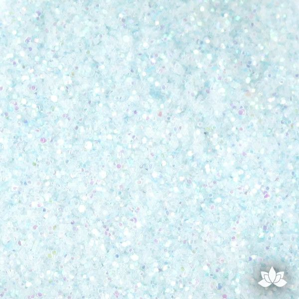 Baby Blue Disco Dust Pixie Dust. Disco Dust is a Non-toxic fine glitter for cake decorating that will add a touch of color to your fondant cakes & cupcakes.  Caljava Wholesale cake supply. FondX