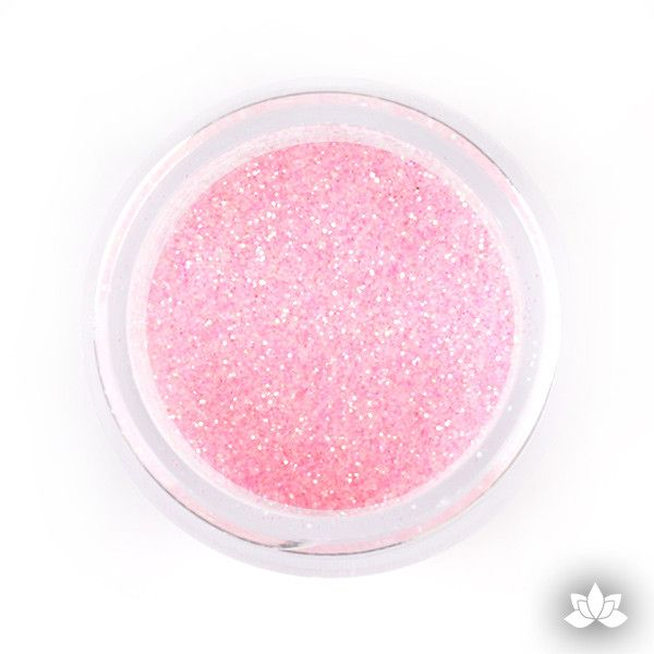 Baby Pink Disco Dust (Pixie Dust). Disco Dust is a Non-toxic fine glitter for cake decorating that will add a touch of color to your fondant cakes & cupcakes.