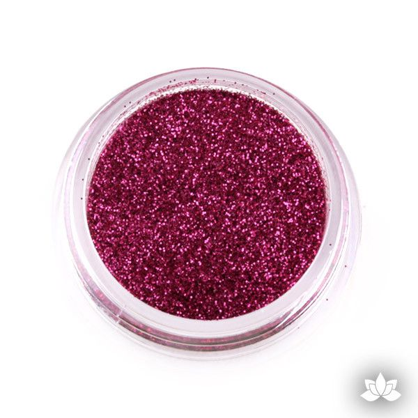 Bright Pink Disco Dust Pixie Dust. Disco Dust is a Non-toxic fine glitter for cake decorating that will add a touch of color to your fondant cakes & cupcakes
