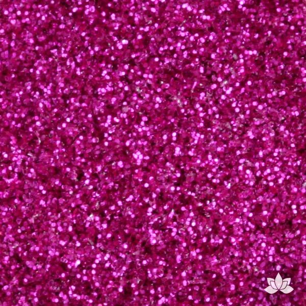 Glamourous Pink Disco Dust Pixie Dust. Disco Dust is a Non-toxic fine glitter for cake decorating that will add a touch of color to your fondant cakes & cupcakes.  Caljava Wholesale cake supply. FondX