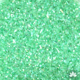 Green Rainbow Disco Dust Pixie Dust. Disco Dust is a Non-toxic fine glitter for cake decorating that will add a touch of color to your fondant cakes & cupcakes.  Caljava Wholesale cake supply. FondX