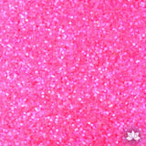 Hot Pink Disco Dust Pixie Dust. Disco Dust is a Non-toxic fine glitter for cake decorating that will add a touch of color to your fondant cakes & cupcakes.  Caljava Wholesale cake supply. FondX