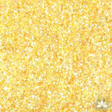 Lemon Zest Yellow Disco Dust Pixie Dust. Disco Dust is a Non-toxic fine glitter for cake decorating that will add a touch of color to your fondant cakes & cupcakes.  Caljava Wholesale cake supply. FondX