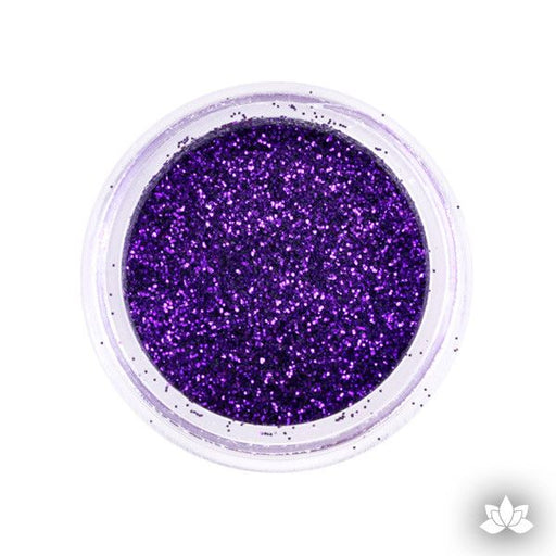 Lilac Disco Dust Pixie Dust. Disco Dust is a Non-toxic fine glitter for cake decorating that will add a touch of color to your fondant cakes & cupcakes.  Caljava Wholesale cake supply. FondX